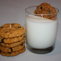 Cookies and Milk Candles