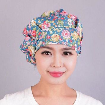 DCCKJG2 Lady Turban cotton coverwrap Head Wrap Band Chemo Bandana Pleated Cap Hat 10pcs/lot free ship