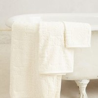 Lassen Quilted Towel Collection by Anthropologie