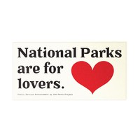 National Parks Are For Lovers Sticker