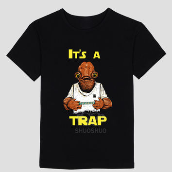 Admiral Ackbar Star Wars It's a Trap Men's T Shirt