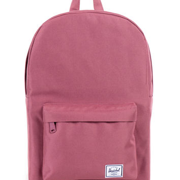Herschel Supply Co. - Classic Mid-Volume Backpack (Dusty Blush) - Maroon