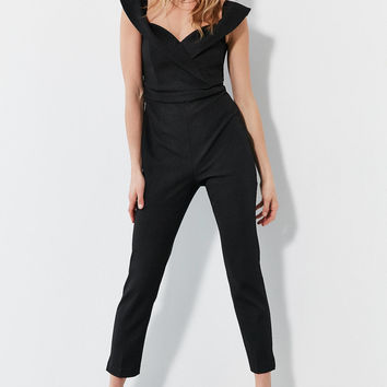 Bardot Bella Off-The-Shoulder Jumpsuit | Urban Outfitters