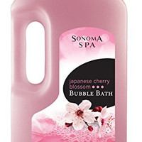 Sonoma Spa Bubble Bath, Japanese Cherry Blossom, 64 Fluid Ounce