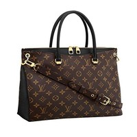 Louis Vuitton Monogram Canvas Pallas Noir Handbag Article: M42756 Made in France  Louis Vuitton Bag