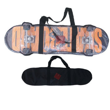 Skateboard Carry Bag Long board Skate Scooter Duffle Backpack Waterproof Clear Skate Board Bag SS