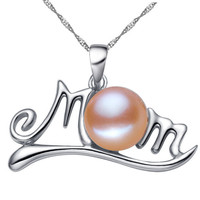 Best Gift for Mom Mothers Day Present Crystal Necklace Jewelry for Love Ones(Gift box) [9571278797]