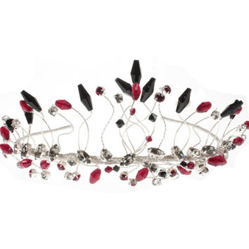 Wedding Tiara, Bridal Tiara, Tiaras For Weddings, Unusual Tiaras, Colourd Wedding Tiaras