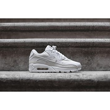 Nike Air Max 90 PRM - Triple White