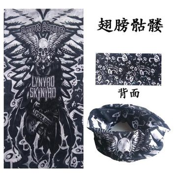 Halloween Decoration Skull Mask Outdoor Sports Scarf Bandana Motorcycle Bicycle Magic Festival Half Face Masks Neck Ghost D281