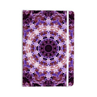 "Iris Lehnhardt ""Mandala III"" Pink Purple Everything Notebook"