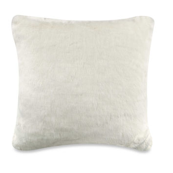 Anthology™ Glam Faux Fur Square Throw Pillow