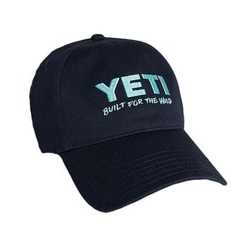 Lifestyle Full Panel Low Profile Hat in Navy by YETI