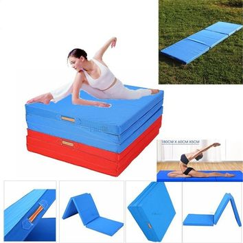 Folding Panel Gymnastics Mat Gym Fitness Stretching Yoga Tumbling Pads
