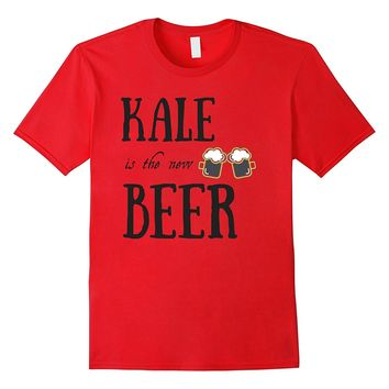 Funny Kale is the New Beer Plants and Veggie Shirt