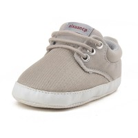 Delebao New Design Breathable Mesh Baby Shoes 3 Color To Choose Lace-up Unisex Baby Shoes