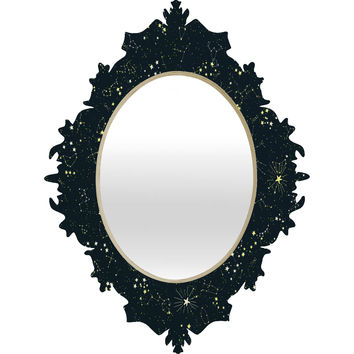 Joy Laforme Constellations In Midnight Blue Baroque Mirror
