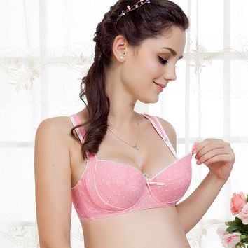 f5726e97ba Auri Muffy Sales Breastfeeding bra pregnant women underwear cotton maternity  nursing bra soft underwire