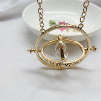 Harry Potter Necklace Time Turner Necklace, Hermione Necklace, best Chosen Gift