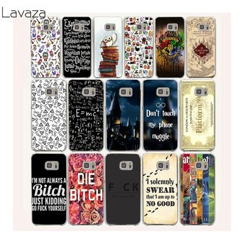 Lavaza 6af Harry Potter Bitch Hard Case Cover for Samsung Galaxy 9 8 Plus S7 S6 edge S5 S4 S3 Grand Prime