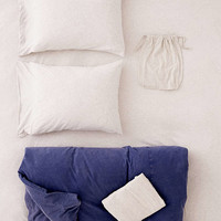 Frankie Pieced Jersey Duvet Snooze Set   Urban Outfitters