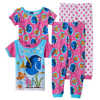 Disney / Pixar Finding Nemo Toddler Girl Pajama Set