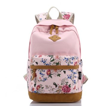 Casual Style Bookbags School Backpacks Comfortable and Soft with Laptop Compartment