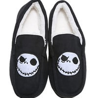 The Nightmare Before Christmas Moccasin Slippers