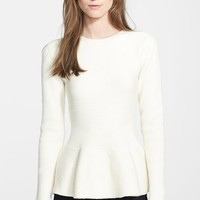 Women's Ted Baker London 'Edenia' Peplum Sweater