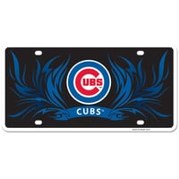 Chicago Cubs Styrene License Plate