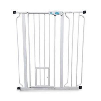 Carlson Lil Tuffy Expandable Pet Gate with Small Door