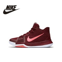 NIKE Original New Arrival Basketball Shoes Stability Breathable Comfortable High Quality 859466-681