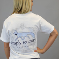 Simply Southern Tee - White Fox