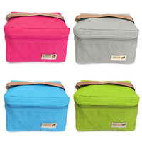 Thermal Cooler Insulated Lunch Box Storage Picnic Bag Portable Travel Tote Pouch