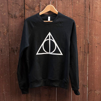 Deathly Hallows Sweater by SoEffingCute on Etsy