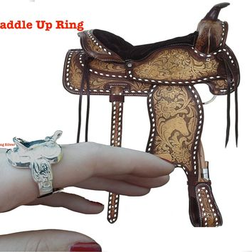 Saddle Up  Ring