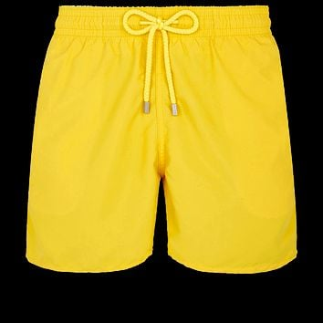 Vilebrequin - Moorea Citron Yellow Swim Shorts