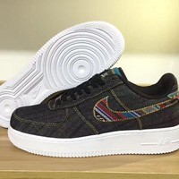 qiyif Nike Air Force 1 LV8 Black For Women Men Running Sport Casual Shoes Sneakers