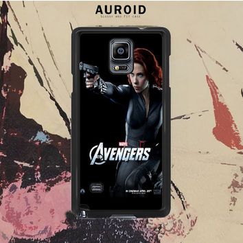 The Avengers - Black Widow Samsung Galaxy Note 4 Case Auroid