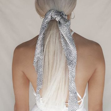 Wander Far Animal Spotted Scrunchie Hair Scarf