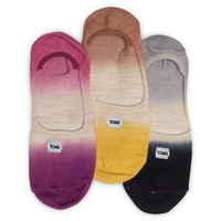 3 Pack Dip Dye Alpargata Socks US