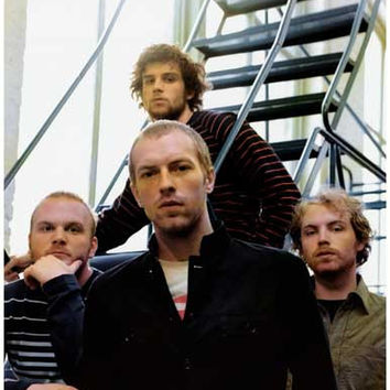 Coldplay Band Poster 11x17