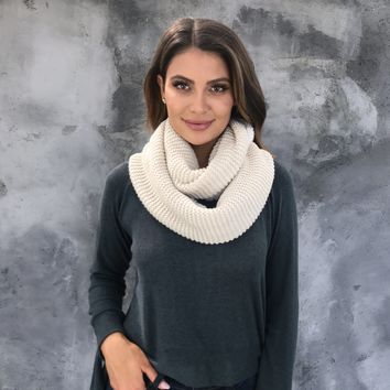 Softest Touch Infinity Scarf in Oatmeal