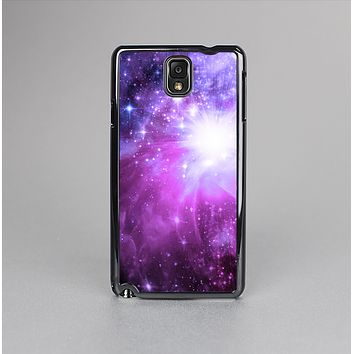 The Violet Glowing Nebula Skin-Sert Case for the Samsung Galaxy Note 3