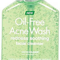 Neutrogena Oil-Free Acne Wash Redness Soothing Facial Cleanser, 6 Fluid Ounce