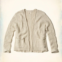 Girls Textured Non-Closure Cardigan | Girls Tops | HollisterCo.com