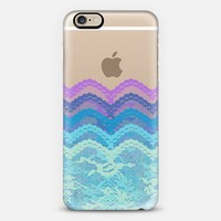 Dreamy Ombre Lace Layers iPhone 6 case by Organic Saturation | Casetify