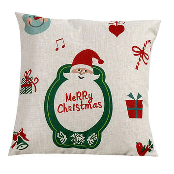 Cute Christmas Santa Claus Pillow Case  ML1045