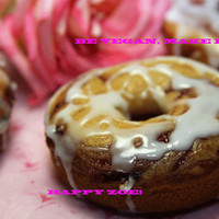 Vegan gluten free vanilla swirl black currant doughnuts,  love and compassion,natural,healthy,gluten free ingredients,birthday,wedding.