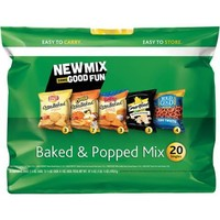 VARIETY BAKED & POPPED MIX 20 PK